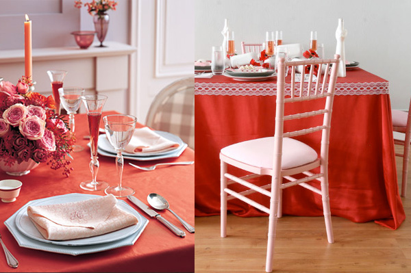 ideas para decorar la mesa para san valentin