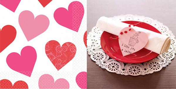 Decoraci n san valent n ideas para la mesa revista - Como hacer adornos de san valentin ...