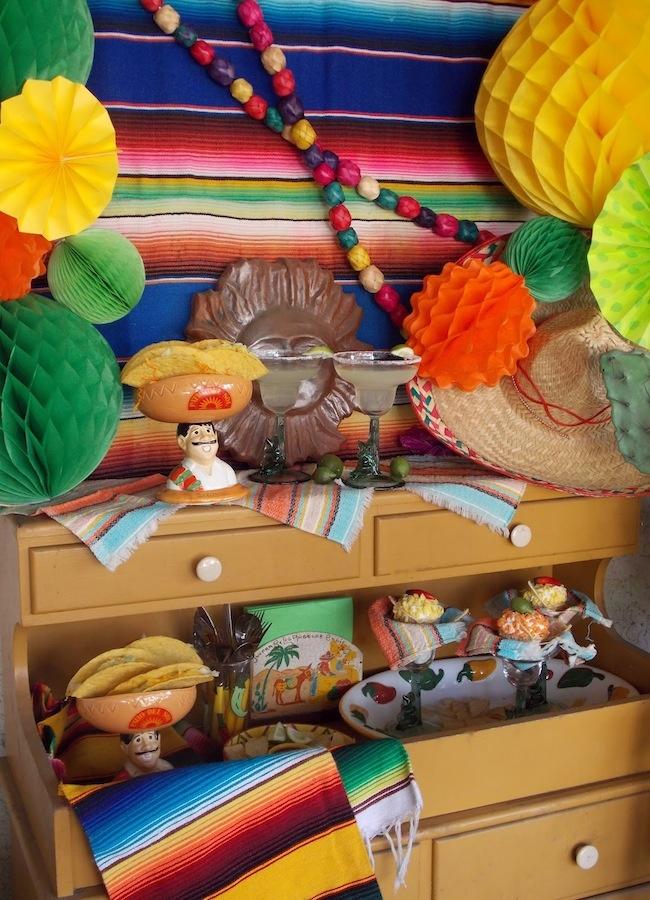 ideas para la decoracin para una fiesta mexicana