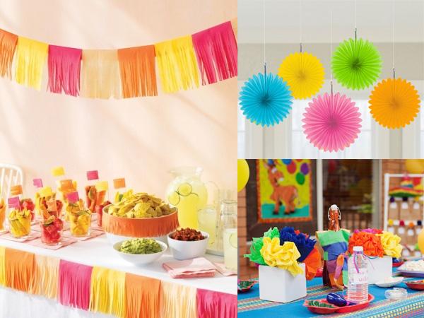Fiesta 5 de mayo ideas para la decoracion revista for Decoracion mexicana