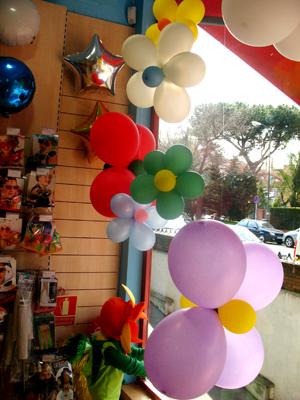 Decoracion Con Globos Una Flor Alegre Revista Fiestafacil