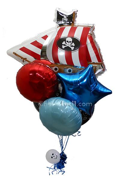 un decorado impactante para una fiesta pirata