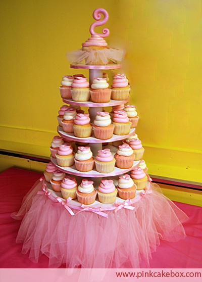 cupcakes para fiesta princesa