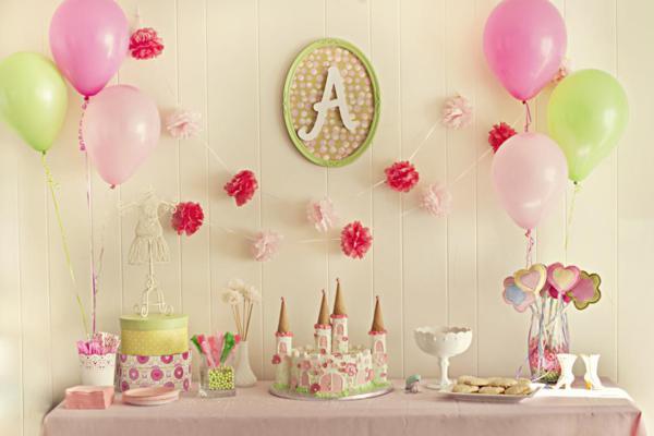 Fiesta princesa ideas para la decoracion revista for Decoracion de princesas