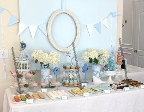 Mesas de dulces la colocaci n revista fiestafacil for Mesa de dulces baby shower