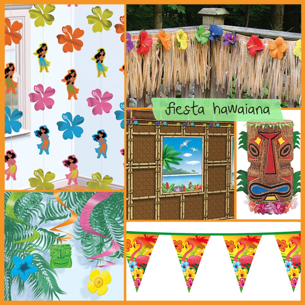 ideas fiesta hawaiana